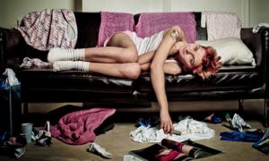 Не хватает сил на домашние дела