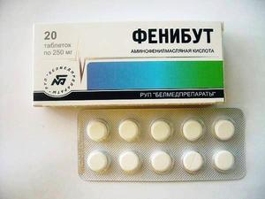Как применяются таблетки Фенибут